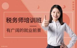 怀化鹤城区注册税务师培训班